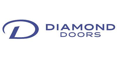 Diamond Doors logo / link